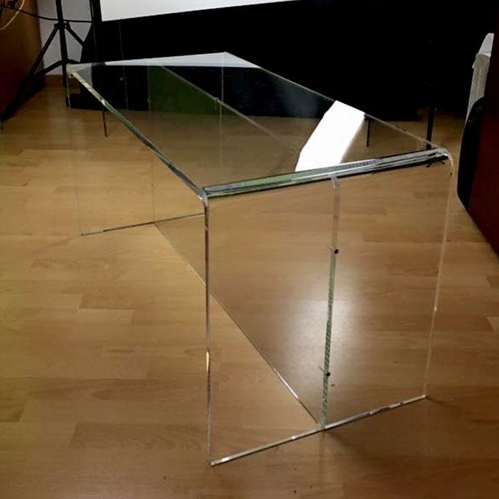tavolino in plex